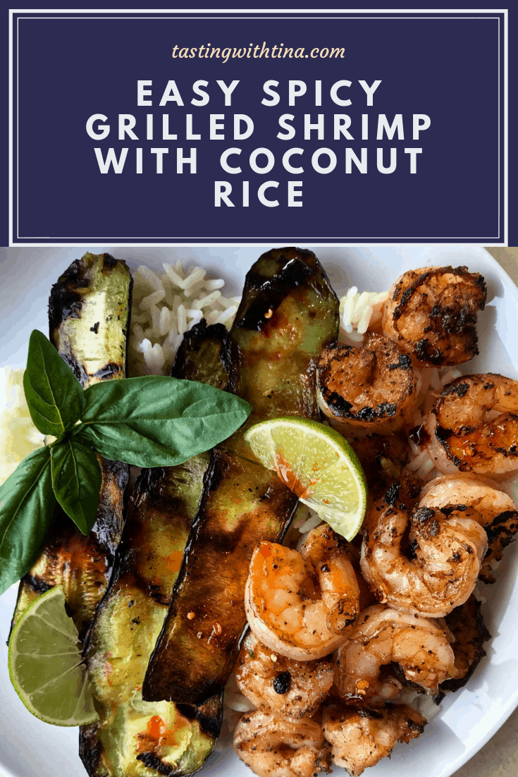 Easy Spicy Shrimp With Coconut Rice
