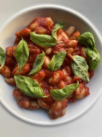 Vegan Cannellini Beans