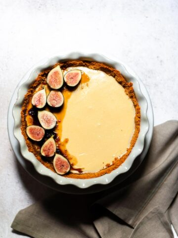 Fig Cheesecake