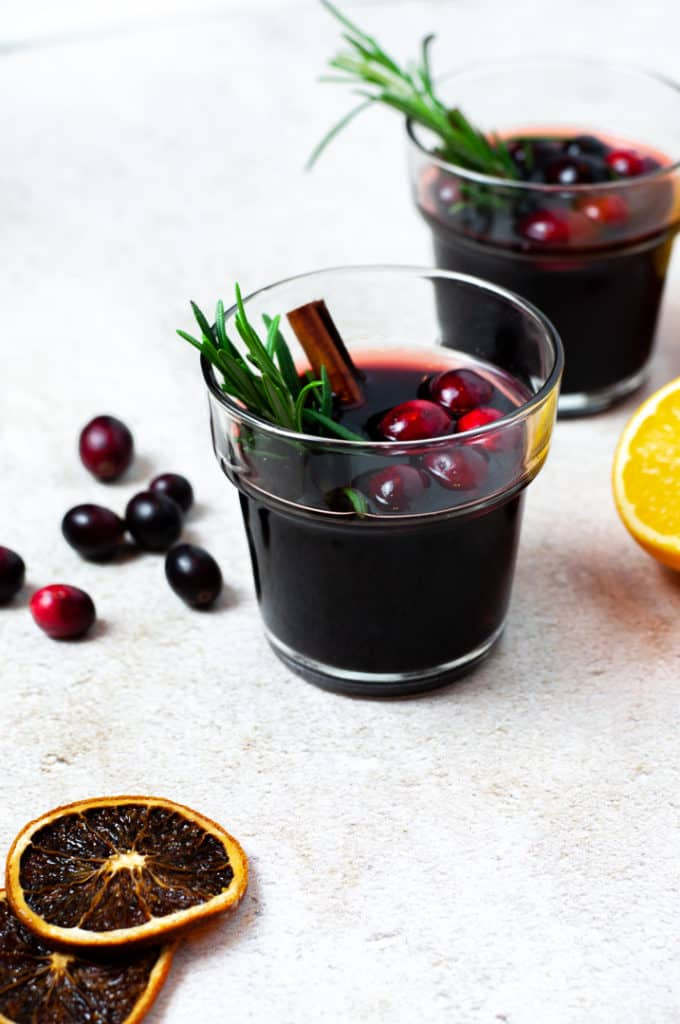 Cranberry Mulled Wine