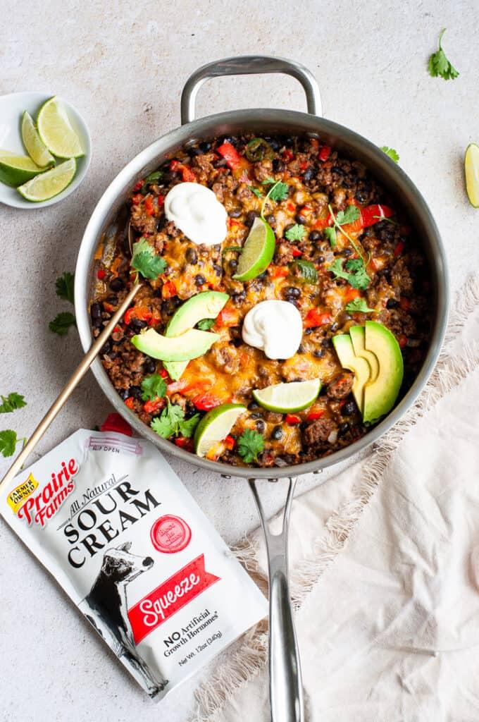 One Pan Taco Skillet Recipe