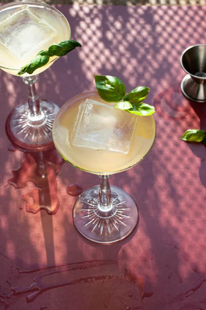 Sweet Basil Cocktail